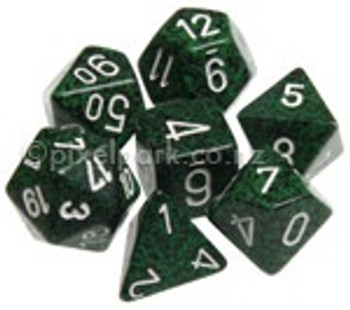 Speckled Polyhedral Dice Set Recon
