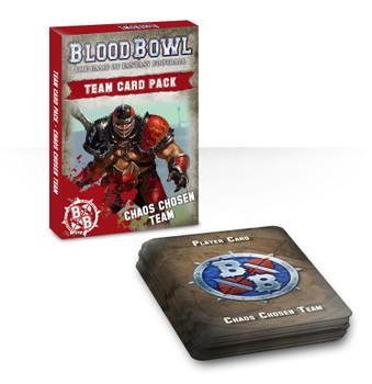 200-40 Blood Bowl: Chaos Chosen Team Card Pack