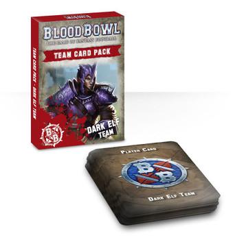 200-44-60 Blood Bowl: Dark Elf Team Card Pack