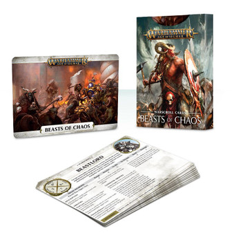 81-05-60 Warscroll Cards: Beasts of Chaos
