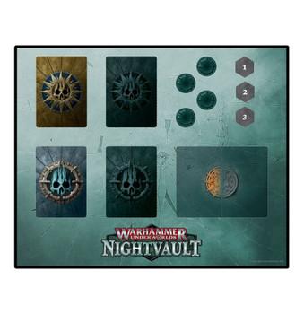 110-40 WH Underworlds: Nightvault Dashboard Mat