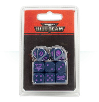 102-11 WH 40K Kill Team Tyranids Dice Set