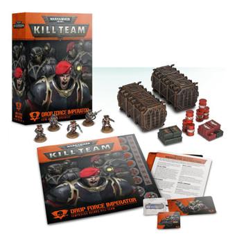 102-23-60 WH 40K Kill Team: Drop Force Imperator -Astra Militarum