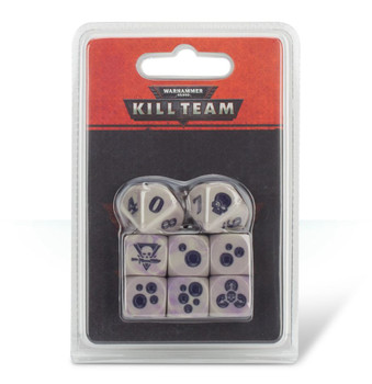 102-08 WH 40K Kill Team: Gellerpox Infected Dice