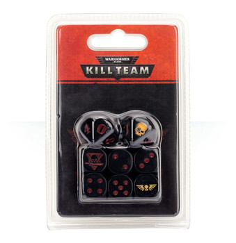 102-15 WH 40K Kill Team Astra Militarum Dice Set