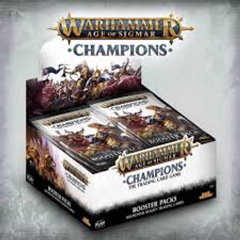 WH Age of Sigmar Champions Booster Box