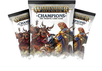 WH  Age of Sigmar Champions Booster TCG