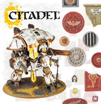 66-94 Sector Imperialis: Large Base Detail Kit