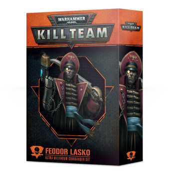 102-39-60 WH 40K Kill Team Commander: Feodor Lasko