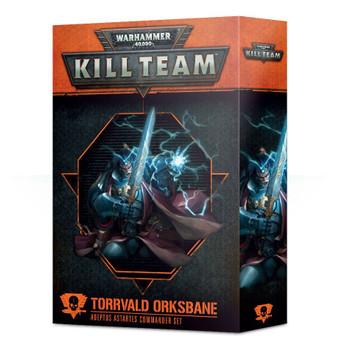 102-38-60 WH 40K Kill Team Commander: Torrvald Orksbane
