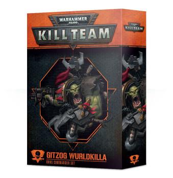 102-33-60 WH 40K Kill Team Commander: Gitzog Wurldkilla
