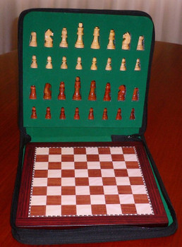 Magnetic Chess Deluxe Travel Set 100mm