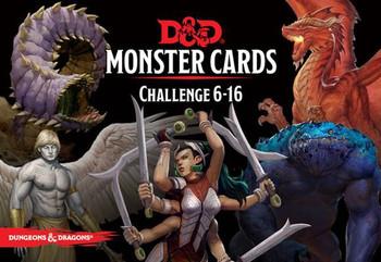 D&D Spellbook Cards: Monster Cards Challenge 6-16