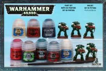 60-11 WH 40K Paint Set 2012 (DFR)