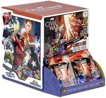 DiceMasters Civil War Foil Pack
