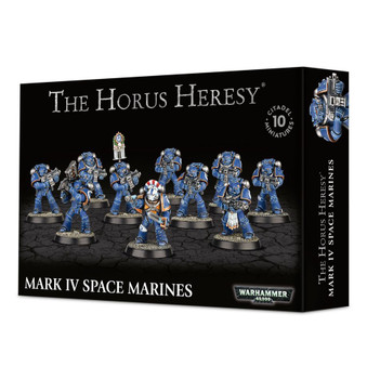 01-01 Horus Heresy: Mark IV Space Marines