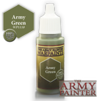 Army Green paint pot