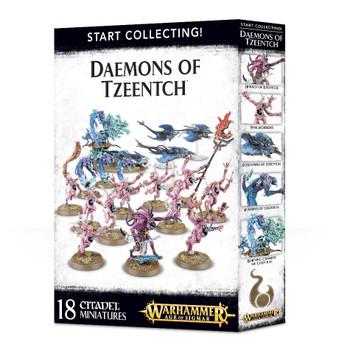 70-84 Start Collecting! Daemons of Tzeentch 2018