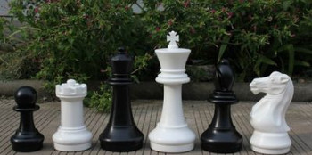 410mm Garden Patio Chess Set
