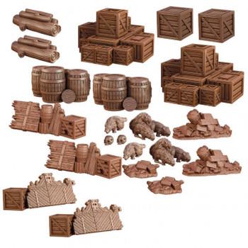 Terrain Crate Dungeon Debris