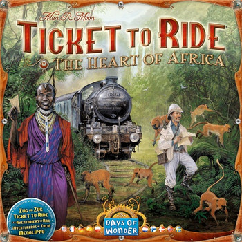 Ticket to Ride: Heart of Africa