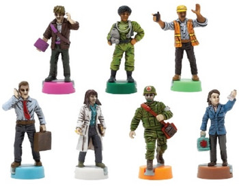 Pandemic 10th Anniversary Painted Figures