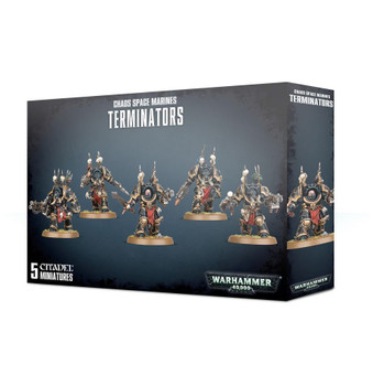 43-19 Chaos Space Marine Terminators 2019