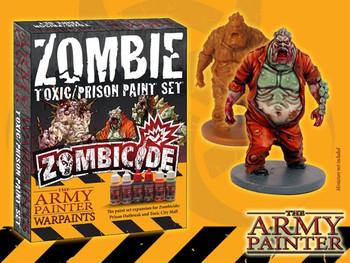 Zombicide Toxic Prison Paint Set
