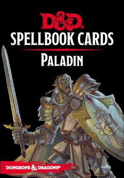 D&D: Spellbook Cards: Paladin Deck