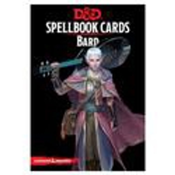 D&D: Spellbook Cards: Bard