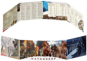 D&D: Waterdeep Dragon Heist DM Screen