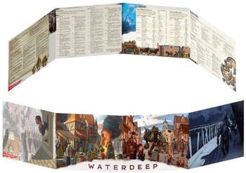 D&D: Waterdeep Dragon Heist DM Screen