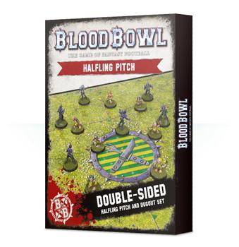 200-67 Blood Bowl: Halfling Team Pitch & Dugouts