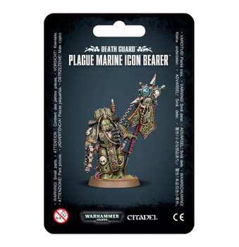 43-47 Death Guard Plague Marine Icon Bearer