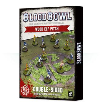 200-68 Blood Bowl: Wood Elves Pitch & Dugouts