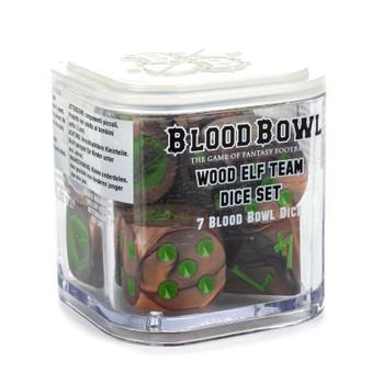 200-63 Blood Bowl: Wood Elf Dice Set