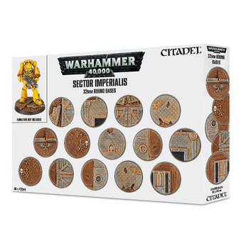 66-91 Sector Imperialis: 32mm Round bases