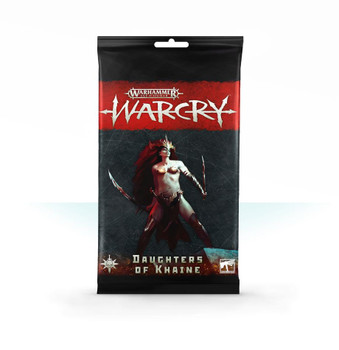 111-08 AOS Warcry: Daughters of Khaine Card Pack
