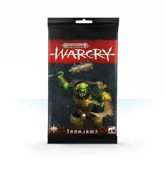 111-15 AOS Warcry: Ironjawz Card Pack