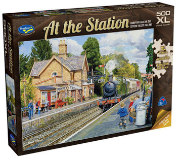 At the Station Puzzle 500pc - Hampton Loade on the Seven Valley Railway