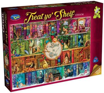 Treat yo' Shelf Puzzle 1000pc - A Stitch in Time