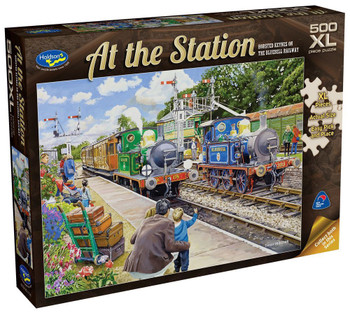 At the Station Puzzle 500pc - Horsted Keynes On The Bluebell Railway