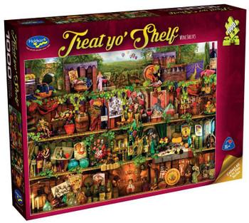 Treat yo' Shelf Puzzle 1000pc - Wine Shelves