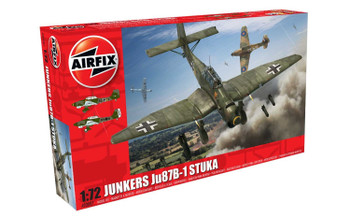 Junkers Ju87 B-1 Stuka 1:72 Scale Model Kit