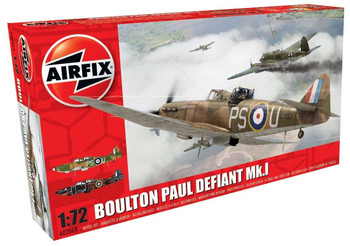Boulton Paul Defiant MK1 1:72 Scale Model Kit