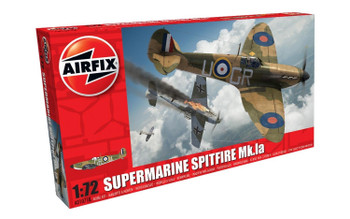 Supermarine Spitfire Mk.Ia 1:72 Scale Model Kit