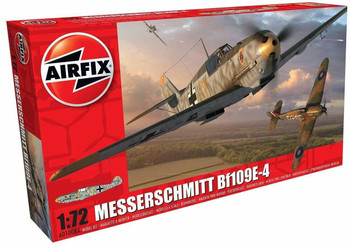 Messerschmitt Bf109E-4 1:72 Scale Model Kit