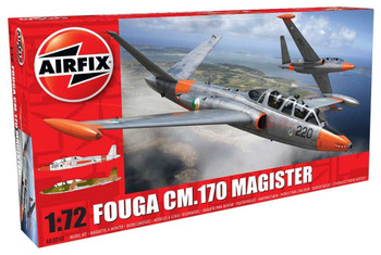 Fouga Magister 1:72 Scale Model Kit