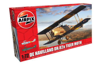 De Havilland DH.82a Tiger moth 1:72 Scale Model Kit