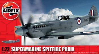 Supermarine Spitfire PR.XIX 1:72 Scale Model Kit